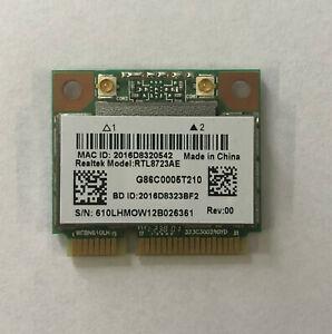 Genuine Realtek RTL8723AE WIFI 2.4GHz PCI-e Wireless Card 802.11 b/g/n + BT 4.0