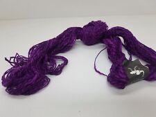 wolle zum stricken effektgarn- lila-meliert Strickwolle 500gr. baum/vis/lei st06