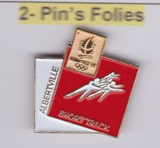 Pin's Folies Badge Albertville Olympic games 1992 Short Track Albertville