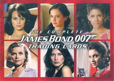 JAMES BOND THE COMPLETE 2007 RITTENHOUSE PROMO CARD P1 MOVIE