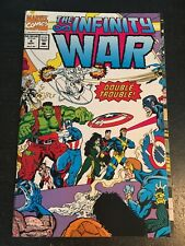 The Infinity War#4 Incredible Condition 9.4(1992) Gatefold Wraparound Cover