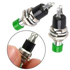 ON/OFF Push button Switch Hot  10Stk Red Mini Lockless Momentary
