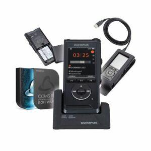 Olympus DS-9000 Premium Kit mit Schiebeschalter und der Software ODMS 7