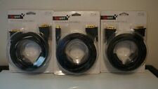 (Set of 3) Gigaware 6' DVI-D Dual Link Cable