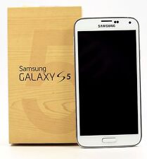 USED- Samsung Galaxy S5 SM-G900H Octa Core White (FACTORY UNLOCKED)  5.1'