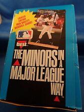1990 CLASSIC BASEBALL - BEST HOBBY BOX (35) PACKS ! MLB HOFers ! THOMAS (RC) !