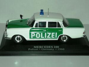 MERCEDES 200, POLIZEI GERMANY, 1960