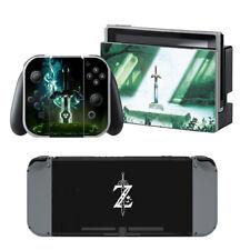 Zelda Vinyl Decal Cover Skin Sticker for Nintendo Switch w/ Screen Protector