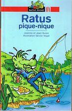 Ratus Pique nique * RATUS ROUGE 13 * CE1 * GUION * Premières lectures