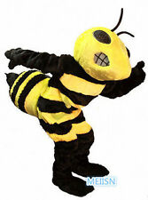 HOT High quality bumblebee cartoon mascot costumes Halloween party adult size