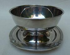 saucière ronde christofle gallia métal argenté modèle coquille vendome arcantia
