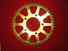 BST Carbon Wheel 47T 525 Talon Alloy Gold Anodised Sprocket, 76mm Bore SIze. New