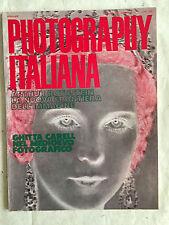 RIVISTA PHOTOGRAPHY ITALIANA N.147 1/1970 A. ROTHSTEIN G. CARELL CANON EX-EE