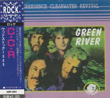 CREEDENCE CLEARWATER REVIVAL - GREEN RIVER. WOODSTOCK 1969. JAPAN