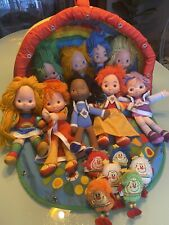 Rainbow Brite Vintage Play Set With Dolls