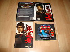 ONIMUSHA WARLORDS DE CAPCOM PARA LA SONY PLAY STATION 2 PS2 USADO COMPLETO