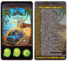 SLIGHTLY STOOPID Schools Out For Summer 2018 Ltd Ed Stickers STICK FIGURE PEPPER