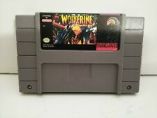 Wolverine SNES Super Nintendo Cart Only