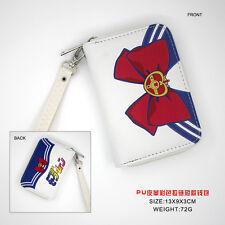Anime Sailor Moon PU Short Wallet/Purse/Coin Purse/Zero Wallet with Zipper