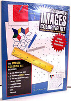 Roger Burrows Images Coloring Kit  (Paperback) FREE shipping $35