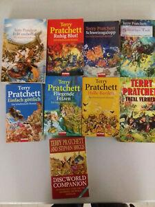 Sammlung 8 Bücher Scheibenwelt Terry Pratchett