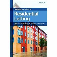 The Complete Guide to Residential Letting: The Smart Landlord's Guide-ExLibrary