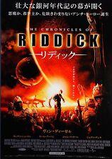 The Chronicles of Riddick 2004 Japanese Mini Movie Poster Chirashi Japan B5