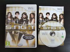 Disney Sing It: Party Hits - Nintendo Wii / Wii U - Free Fast P&P! - Music Songs