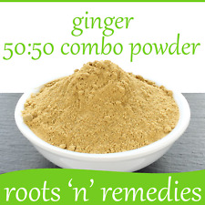 Ginger Root Extract + Whole Root, 50:50 Combo Powder:- 5/50/100g...