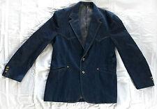 Vintage 1970s Levi's Denim PANATELA Western Jacket Blazer - Size 46L