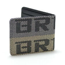 JDM BRIDE Seat Gradation Logo Wallet Custom Stitched Leather Racing Super Cool