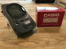 Casio Lcd Pocket color television Tv and Ac adaptor Free Shipping!