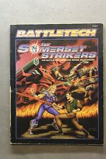 1st Sommerset Strikers supplement for the Battletech game USED by FASA first