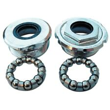Cycle / Bike / Bicycle Bottom Bracket Cups & Bearings With Rubber DIrt Seals