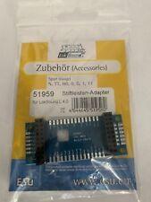 +++ ESU 51959  Adapterplatine für LokSound L V4.0 mit Stiftleisten 51959