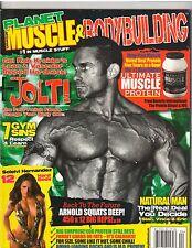 PLANET MUSCLE bodybuilding fitness magazine/ROB KREIDER & SOLEIVI HERNANDEZ 4-11