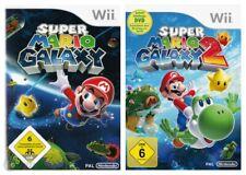 Nintendo Wii Spiel - Super Mario Galaxy Bundle: Teil 1 + 2 DE/EN mit OVP