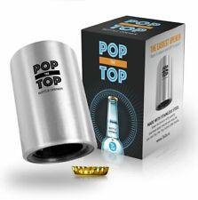 Popthetop Abrebotellas Automatico De Cerveza: (Inoxidable) - Gran Regalo - Tapa