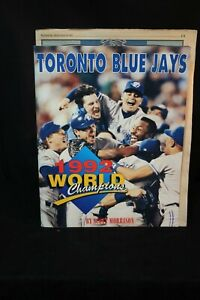 1992 Toronto Blue Jays World Champions over size book news paper