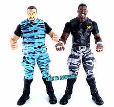 DUDLEY BOYZ D VON BUBBA RAY - WWE Jakks Titan Tron Live Figure Lot Team 3D_s91