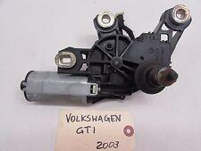 2003 Volkswagen GTI Rear Windshield Wiper Motor