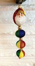 Patricia Breen Kinetic Icicle Santa Claus Rainbow Santa 2003 Gump's Exclusive