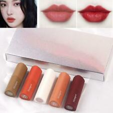 5Pcs/Set 5 Colors Mini Lip Stick Natural Waterproof Matte Velvet Lipstick