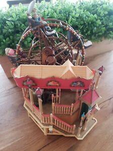 Music Box Enesco Majestic Victorian Ferris Wheel  Vintage