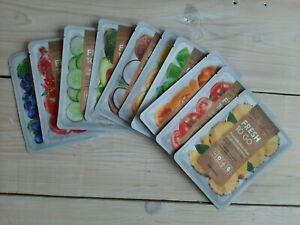 SALE: TONYMOLY Fresh to Go skin friendly mask with excellent effects, 3/5/10 pcs