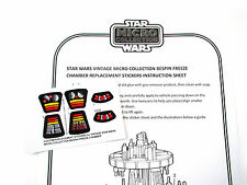 STAR WARS REPLACEMENT STICKERS for MICRO COLLECTION Bespin Freeze Chamber