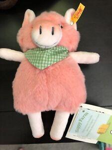 Stiff Happy Farm Stuffed Pig