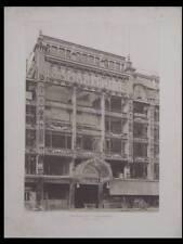 L'ARCHITECTE 1907 - PARIS, SAMARITAINE, FRANTZ JOURDAIN, 3 PLANCHES ARCHITECTURE