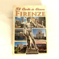 Firenze 54 Differenti Vedute Playing Cards New Sealed