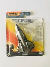 Matchbox Top Gun Maverick Darkstar Fighter Jet - 1/15 New - Mattel